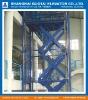 Hydraulic scissor elevator