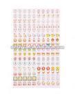 fashion pvc phone/notebook sticker