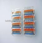5 disposable shaving razor blades