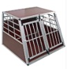 Aluminium cage for dog