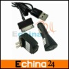 3 in 1 USB Charger Adapters Wall and Car + USB Cable for Samsung Galaxy TAB (P1000) Galaxy Note etc