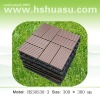 eco-friendly wood plastic composite decking/floor tile