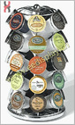 K-Cup Coffee Storage Carousel Black - Holds 35 K-Cups