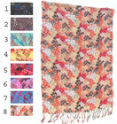 fringed cotton scarves for women