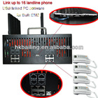 Quad-band FWT (fixed wireless terminal) gateway 32 port with 128Sim cards IMEI changeable