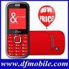 2012 Best Selling Dual SIM Export Low Price Cell Phone K500
