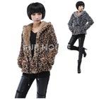 real rex rabbit fur coat,Hood, hot sell