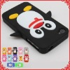 Hot Penguin Silicone Cell Phone Case for iPhone 5 Various Colors