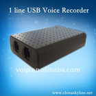 1 port USB telephone call logger with customer call management system software