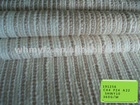 new Champaign Gold fancy yarn strip weave fabric for men women clothes