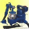 Electric HVLP paint sprayer gun kit
