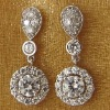 New fashion cz earrings