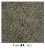 forest green granite stone