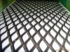 Black Aluminum Diamond Pattern Expanded Metal Mesh