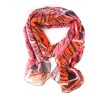 Fashion Lady's Printed Voile Scarf