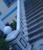 Chinese natural stone stair out side
