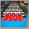 Steel sheet roof machine