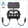IP67 solar panel junction box with mc4 cable connector