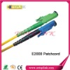 E2000 SX SM fiber optic patch cord with 3.0mm cable