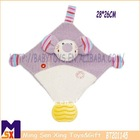 baby soft blankie,interactive infant blanket,baby blankie with teethers and toys