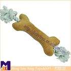durable chewy knotted dog bone toy