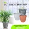 Plastic blowing decoration pot