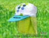RHKSH FH007 fashion 100%cotton baby scarf fishing hat