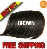 Brown Fringes , Muti Color Available.- Quality Fringes,Hair Bangs