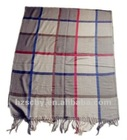 2013 spring fashion plaid scarf