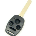 Uncut 4 Button car Key Shell for Honda Accord Civic CRV
