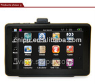 5 inch Car GPS navigation with DDR128 4G flash TV ISDB-T Bluetooth IGO MAP