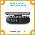 Touch screen 5 inch GPS rearview mirror wireless camera bluetooth headset Av in