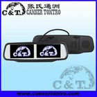 "RVM431AD 4.3"" Digital Double Screen Clip-on Universal TFT LCD car rearview mirror"
