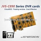 16ch H.264 D1 CCTV DVR Card