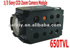 650TVL camera module for high speed dome housing