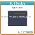 POE-Injector01, Power Over Ethernet Injector, POE Device working with all POE compatible IP cameras