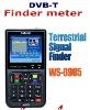 2011 TERRESTRIAL Signal meter finder satlink DVB-T finder meter TERRESTRIAL SIGNAL FINDER (DVB-T) WS-6905