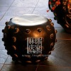 Q148-82Chinese Style Dragon Stool