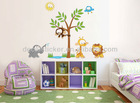 New Arrive Waterproof Cute Kid's Home Decor Mural Vinyl Decal&Sticker