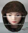 Real Lambskin Hat Double Face Sheepskin Hat