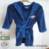 bothrobe for kids/children's robe/polyester robe