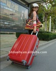 LF8045 trolley luggage ABS + PC FILM for travelling
