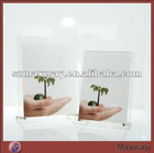 Pretty Rectangle Magnetic Counter Acrylic/Plexiglass Picture/Photo/Card Holder/Frame