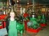oil refining workshop in Russia