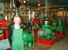 oil refining workshop in Russia
