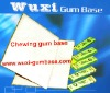 Bubble gum material,raw materials gum base,organic gum base