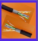 outdoor lan cable cat5e cat6 ROHS/CMP Bare copper