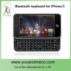 Ultra Thin Slide-out Mini Portable wireless bluetooth Keyboard For iPhone 5 5G