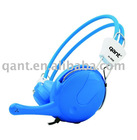 stereo headphone with a little woofer sound