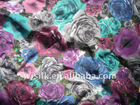 digital print silk fabric